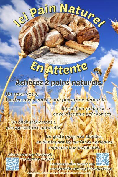 Pain Naturel En Attente - Adhésif
